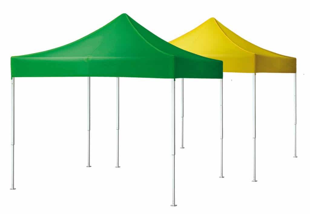 Qualytent Hobby - verde - giallo - 3x3 - 01