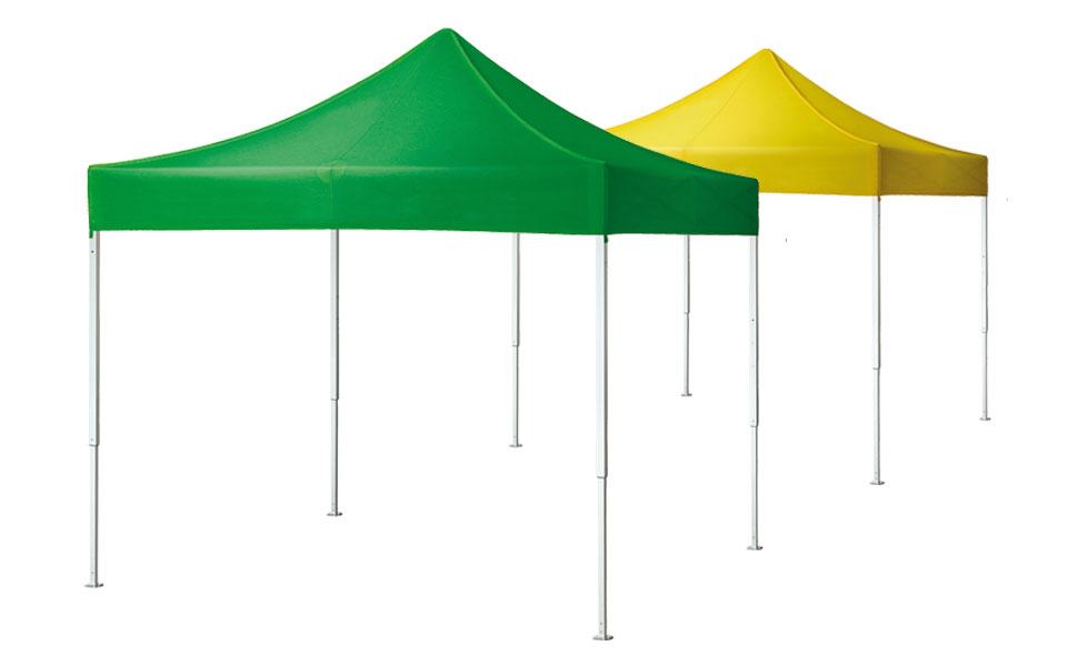 Gazebo pieghevole QUALYTENT Hobby, verde, giallo