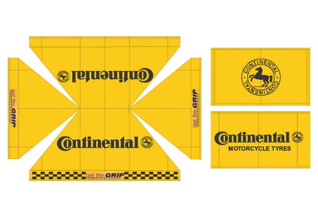 Qualytent Branding Dächer Wände - continental - 01
