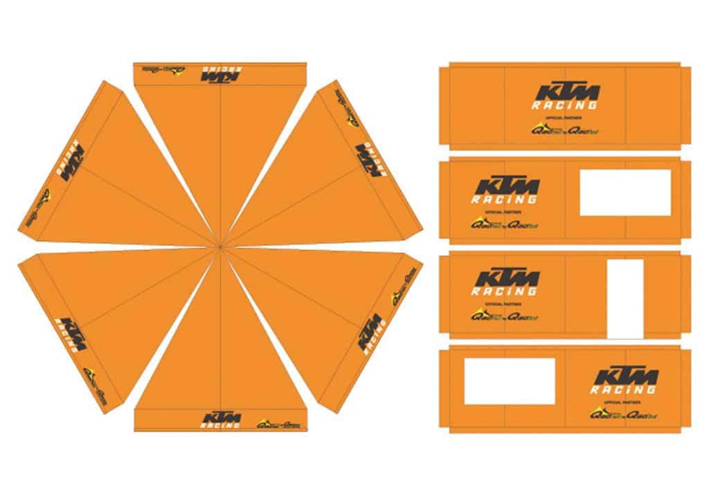 Qualytent Branding Dächer Wände - ktm - 01
