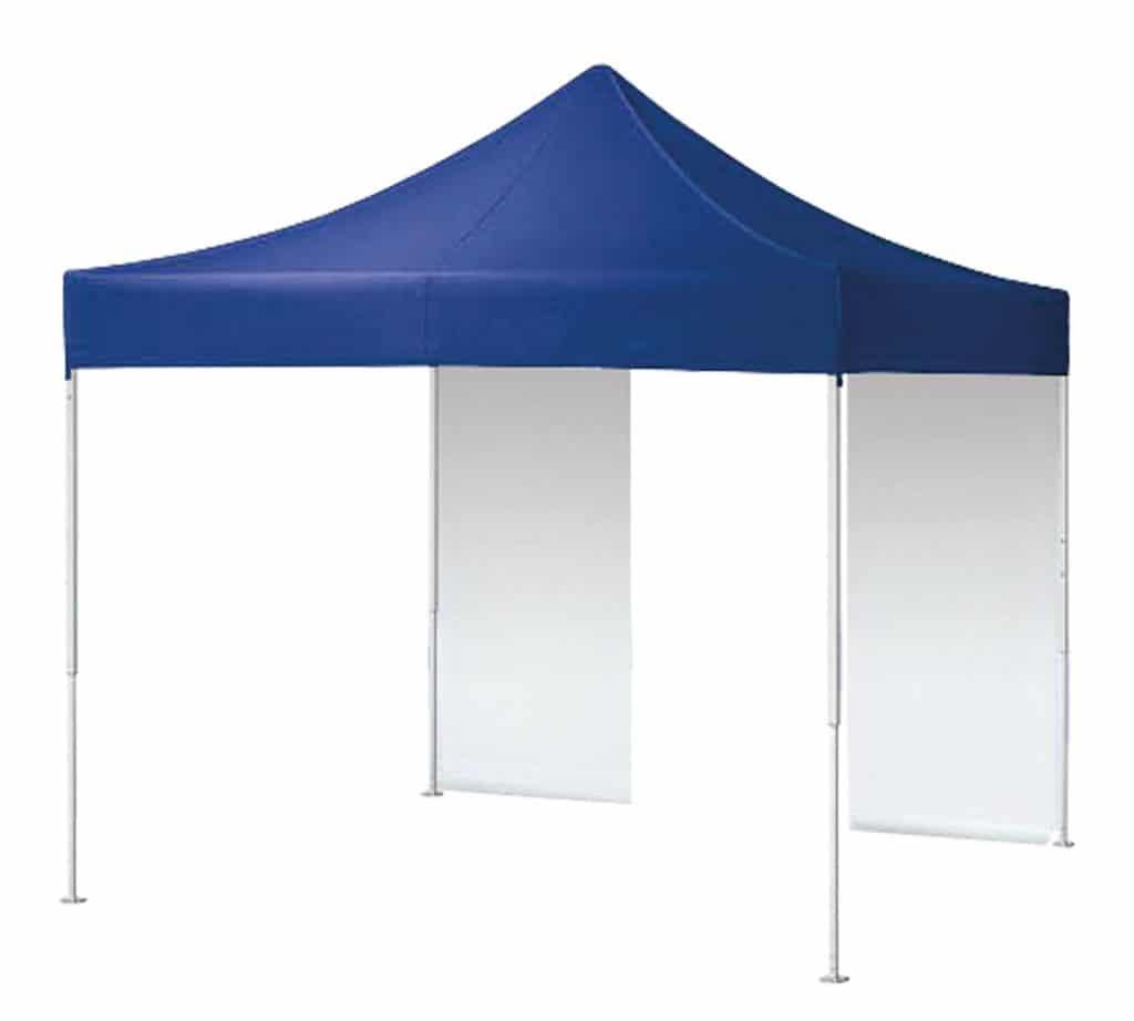 Qualytent Classic - blu - modello parete porta - 01